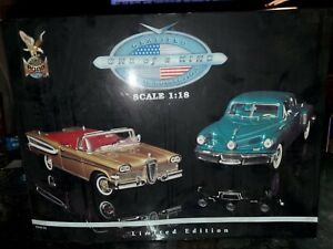 Certified Classic Collection Road Signature 1:18 Toys r us Tucker / Edsel Sealed