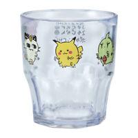 Pokemon Center Original 24 Hours Pokemon CHU Plastic tumbler cup Pikachu Meowth