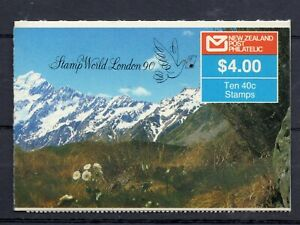 NEW ZEALAND STAMP BOOKLET 1988  $4.00 MOUNT COOK SG SB 51 MINT NEVER HINGED