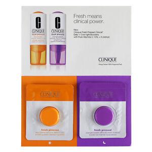 Clinique Fresh Pressed Daily & Overnight Boosters Vitamins C 10% + A (Retinol)