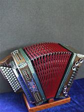 Steirische Harmonika Strasser Classic Nuss  G/C/F/B NEU (mit Sonderausstattung)
