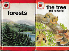 Ladybird Books: Series 737, Ladybird Leaders, Forests; The Tree and its world