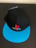 Official Sony PlayStation One PS1 Logo Cap Retro Gamer Snapback Hat Culturefly