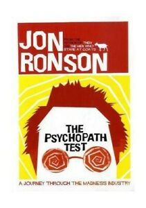 The Psychopath Test by Ronson, Jon Book The Cheap Fast Free Post