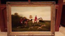 British Hunting Painting