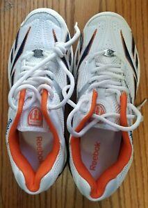 Reebok Mens US 8 / UK 7 size  Rubber Cricket Shoes Sneakers White Sports Sneaker