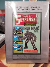 The Invincible Iron Man Vol. 1 Marvel Masterworks MMW Sealed  New