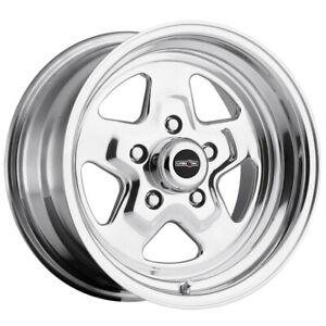 "Vision 521 Nitro 15x8 5x4.75"" +0mm Polished Wheel Rim 15"" Inch"