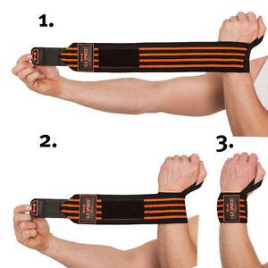 Strongman-Handgelenkbandagen mit extra breitem Klettverschluss C.P. Sports swo