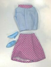 Barbie Doll Clothing: 1999 Fashion Favorites blue & purple polka dot top & skirt