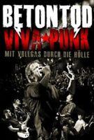BETONTOD - VIVA PUNK-MIT VOLLGAS DURCH DIE HÖLLE  (DVD + 2 CD)  PUNK ROCK  NEW+