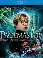 NEW BLU-RAY //  THE PAGEMASTER - Macaulay Culkin, Christopher Lloyd, Ed Begley,