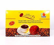 15 Boxes DXN Lingzhi Black Coffee 2 in 1 Reishi Ganoderma Free Express Shipping
