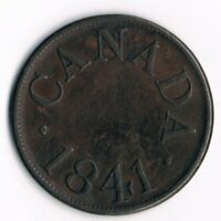 Lower Canada  1/2d  LC-13B Token - 1841 CANADA