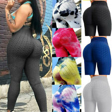 Women Push Up Yoga Leggings Anti-Cellulite Sports Ruched Scrunch Elastic Pants