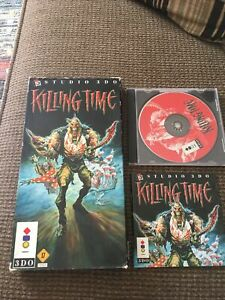 Killing Time (3DO, 1995) - W/ Long Box, Manual, And Disc