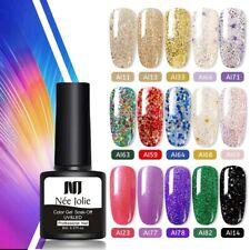 UV Gel Soak Off Gel Polish Varnish new Series Color One-shot Color Nail Gel