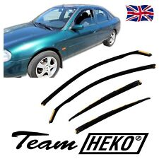 SUN SHADE + Wind Deflectors FORD MONDEO mk2 4/5 DOOR 1996-2000 4pcs HEKO Tinted