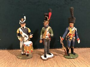 Tradition: Assorted Napoleonic Troops. 54mm Metal Models