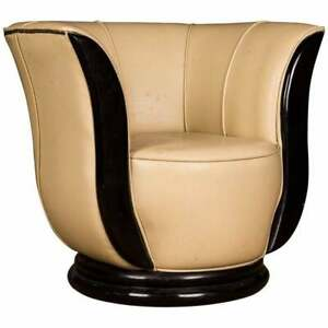 Round Lotus Chair IN Art Deco Style