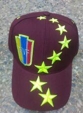 VENEZUELA FLAG UNISEX GORRA HAT / CAP FVF VINOTINTO 8 STARS TOP QUALITY. !!!