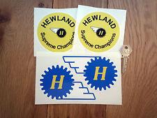 Hewland CAMBIO RACING ADESIVI AUTO SPONSOR F1 RACE BIKE MOTO FORMULA UNO