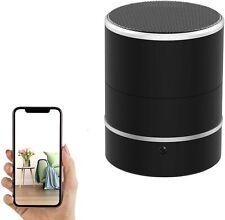 Camera Speaker - Spy Camera PTZ 180° Rotate 1080P WiFi HD Bluetooth Speakers...