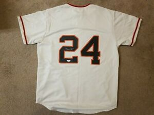 Autographed Willie Mays Jersey JSA Certified