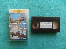 LANCASTER / FLYING FORTRESS - VHS video tape cassette