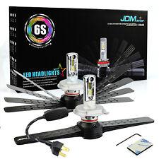 JDM ASTAR 72W 8000LM H4 9003 LED Headlight High Low Dual Beam Bulbs Xenon White