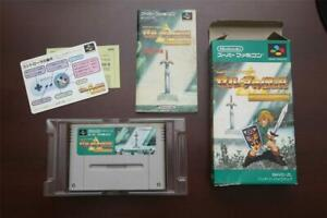 Super Famicom The Legend of Zelda A Link to the Past boxed JP SFC game US Seller