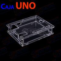 Caja Arduino UNO R3 carcasa acrilica transparente box case housing