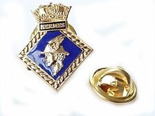 HMS Hermes Royal Navy Lapel Badge