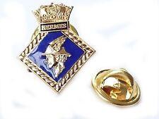 HMS Hermes Royal Navy Lapel Badge