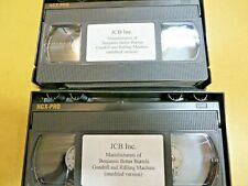 New listing Gundrill & Rifling Machine Video Cassete Tapes By Jcb, Inc.