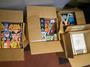 ALPHA FLIGHT (1983) 1-13 LOT Near Mint NM 9.6 9.8 NON-CIRCULATED CASES WOLVERINE
