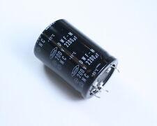 5x 2200uF 200V Radial Snap In Mount Electrolytic Aluminum Capacitor 85C 200VDC