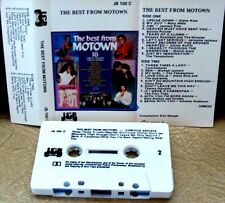 THE BEST FROM MOTOWN  - VARIOUS ARTISTS -            Cassette Tape