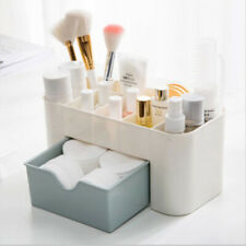 Plastic Makeup Box Cosmetic Organizer Drawer Holder Clear Storage Case Jewelry