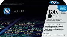 1x tóner HP Color LaserJet 1600 2600n 2605 DN 2605 dtn cm 1015 MFP 1017 124a