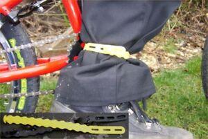 CYCLING BIKE TROUSER CLIPS STRAPS ( UNI-TIE )