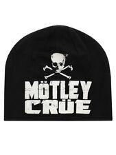 Motley Crue Beanie Skull Discarge Black