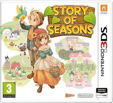 STORY OF SEASONS  NUEVO PRECINTADO 3DS
