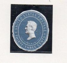 Estados Unidos Lincoln valor de entero postal (CZ-429)