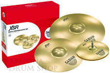 Sabian Xsr Rock Set, 14/16/20 New, Free Shipping - New - In Stock!