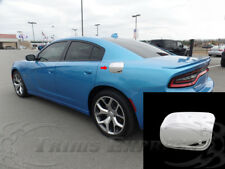 2011-2018 Dodge Charger Chrome Fuel Door Gas Cap Cover Plastic Accent Trim 1Pc