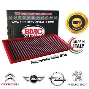 Filtro Aria sportivo BMC FB484/08 Made Italy CITROEN MINI OPEL PEUGEOT lavabile