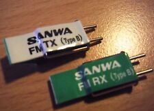 New Genuine Sanwa Type 40mhz FM TX + RX Crystals - Various Frequencies Available