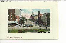 Pennsylvania Avenue   Washington D.C. DB Sextochrome Postcard 3117