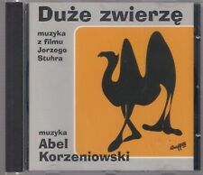 ABEL KORZENIOWSKI DUZE ZWIERZE 2000 CD TOP RARE OOP MYSLOVITZ STUHR ROJEK